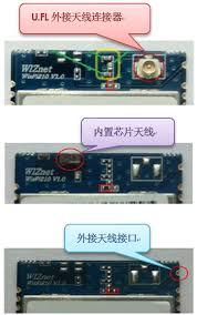 WizFi210 天线类型